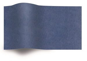 Tissue paper dark blue flame retardant B1