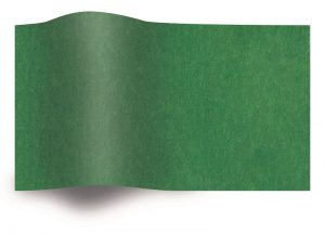 Tissue paper dark green flame retardant B1