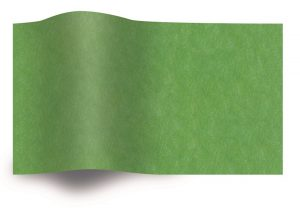 Tissue paper light green flammable B1