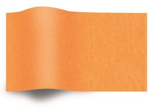 Tissue paper orange flame retardant B1
