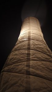 Lampshade paper flame retardant