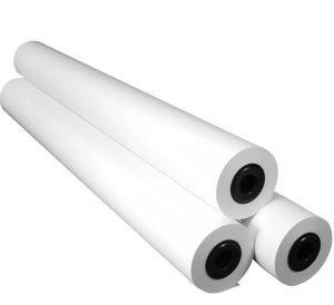 Role paper M1, white, 110 g/sqm